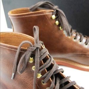 J. Crew Shoes - J. Crew Men's Kenton Leather Plain Toe Boots Sz 10